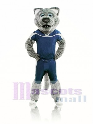 Sport Power Wolf Mascot Costume