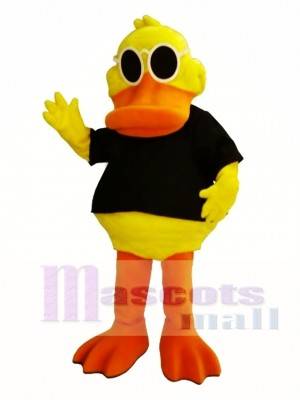 Cool Duck Mascot Costume