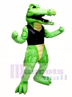 Power Crocodile Mascot Costume