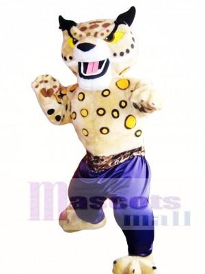 Martial Arts Cheetah Mascot Costume Adult Costume