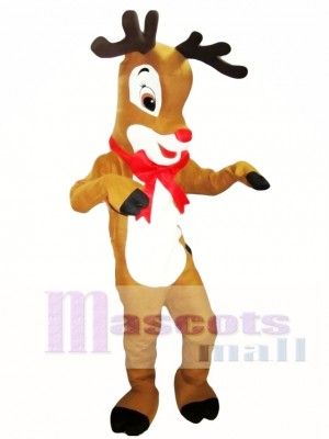 Reindeer Mascot Costume Adult Costume