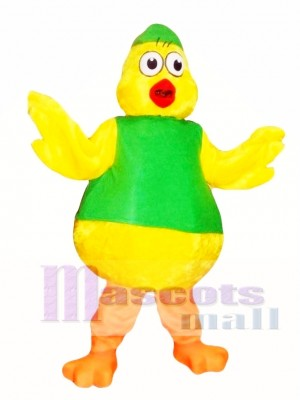 Chick Mascot Costume