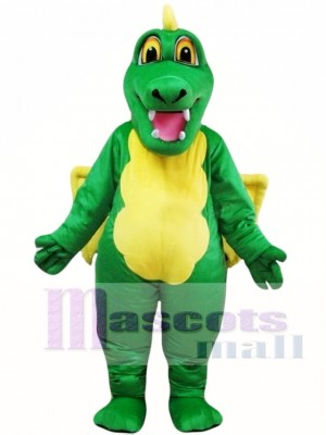 Adult Green Fly Dragon Mascot Costumes