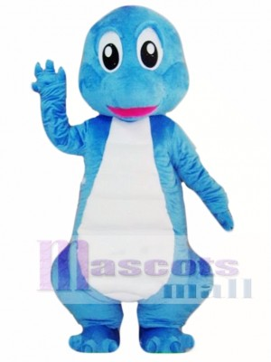Blue Dinosaurs Mascot Costume