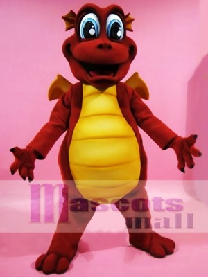 Red Dragon Mascot Costumes