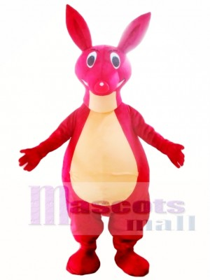 Red Kangaroo Mascot Costume