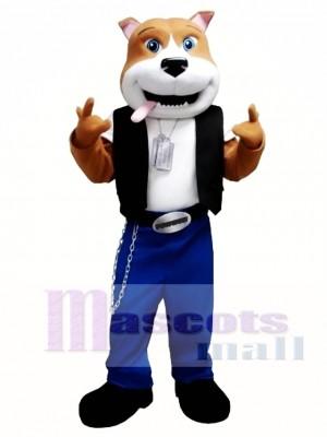 Cool Dog Mascot Costume