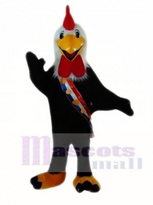 Black Cock Mascot Costumes