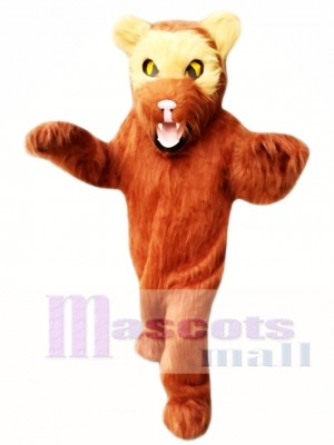 Brown Wolverine Mascot Costume