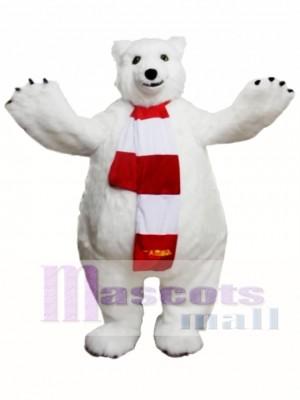 Polar Bear Mascot Costume