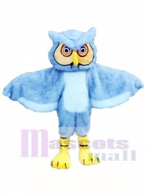 Gray Owl Mascot Costume