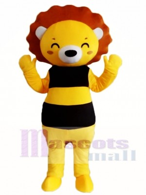 Cartoon Lion Mascot Costume