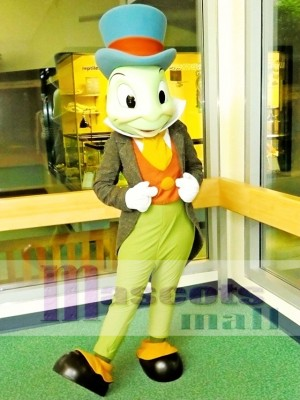 Jiminy Cricket Mascot Costume