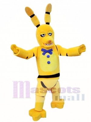 FNAF Five Nights At Freddy's Golden Bonnie Mascot Costume