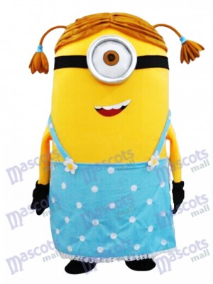 Crazy Me MINIONS Despicable Me Female Minions Stuart Mascot Costume