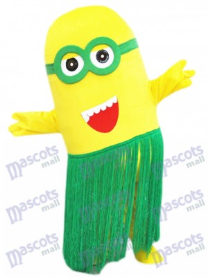 Hula Hawaii Minions Despicable Me Mascot Costume