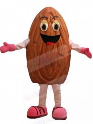 Happy Almond Mascot Costume