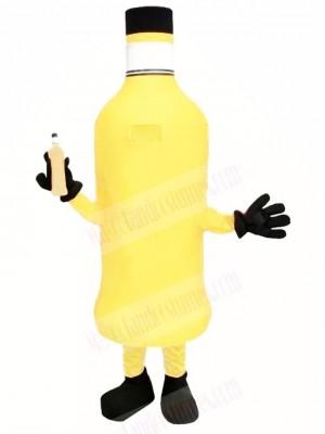 Orange Bottle Mascot Costume