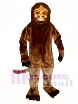 Realistic Monkey Mascot Costume Animal