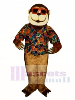 Swinging Ape Mascot Costume Animal