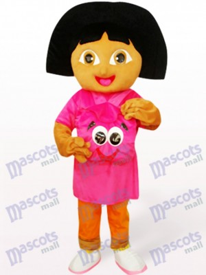Cute Dora Anime Adult Mascot Costume