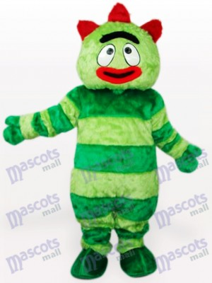 Yo Gabba Gabba Green Monster Anime Adult Mascot Costume