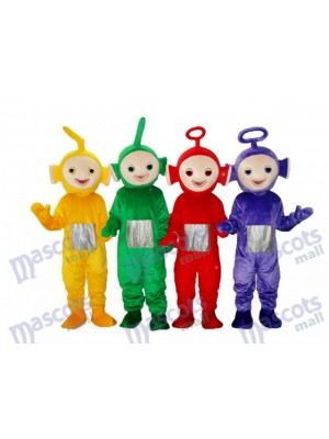 Teletubbies Mascot Adult Costume Cartoon Anime