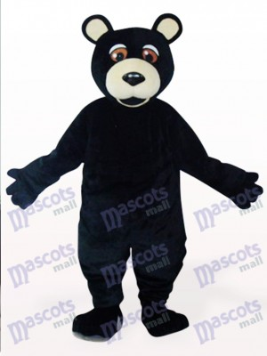 Black Bear Plush Mascot Costume