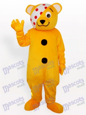 Clown Bear Animal Mascot Costume