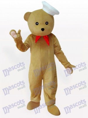 Bear Chef Animal Mascot Costume