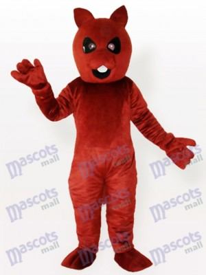 Squirrel Bear Brown Adult Mascot Costume
