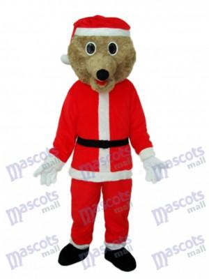 Christmas Bear Mascot Adult Costume Animal