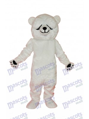 Simple and Honest Polar Bears Mascot Costume Animal