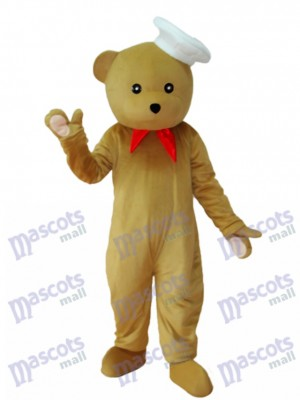 Chef Bear Mascot Adult Costume Animal