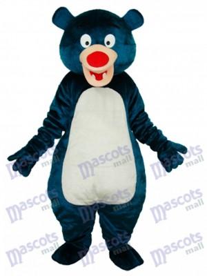 Blue Bear Adult Mascot Costume Animal