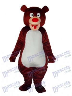 Brown Bear Mascot Adult Costume Animal