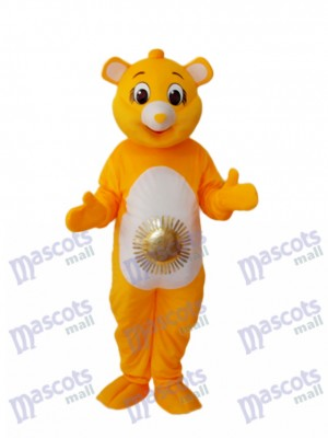 Yellow Sun Bear Mascot Adult Costume Animal