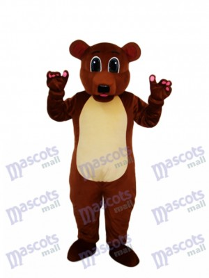 Golden Brown Bear Mascot Adult Costume Animal