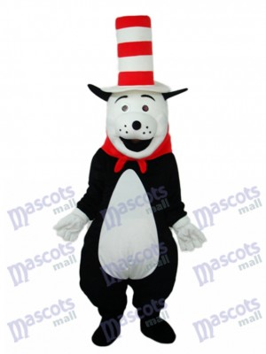 Bear with Hat Mascot Adult Costume Animal