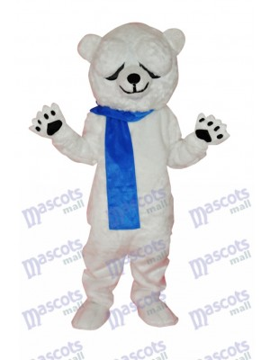 Cute Polar Bear Adult Mascot Costume Animal