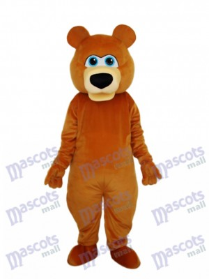 Strange Brown Bear Mascot Adult Costume Animal