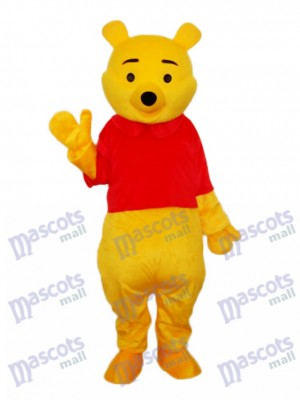 Pooh Bear Mascot Adult Costume Animal