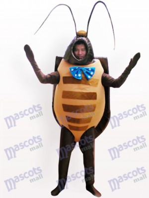 Blackbeetle Insect Adult Mascot Costume