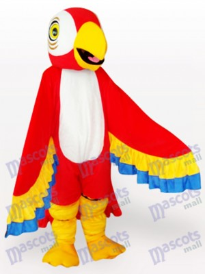 Red Parrot Bird Mascot Costume