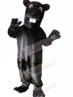Black Leopard Mascot Costumes Animal