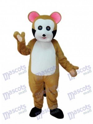 Small Brown Bobcat Mascot Adult Costume Animal