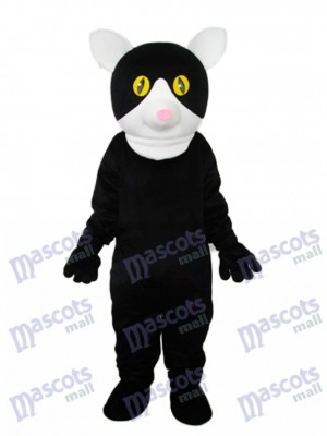 Little Black Cat Mascot Adult Costume Animal