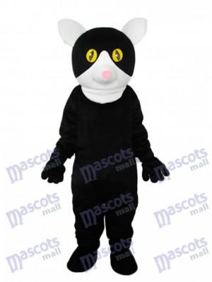 Little Black Cat Mascot Adult Costume Animal