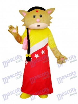 Catwoman Mascot Adult Costume Animal