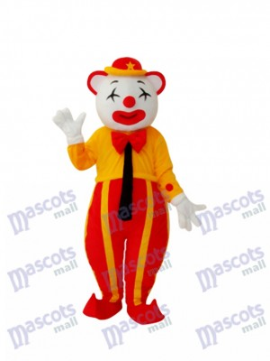 American Clown Mascot Adult Costume